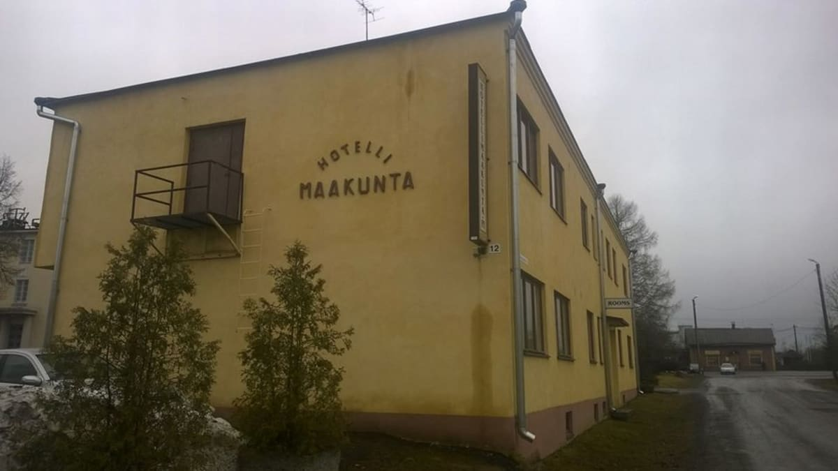 Hotelli Maakunta Forssassa.