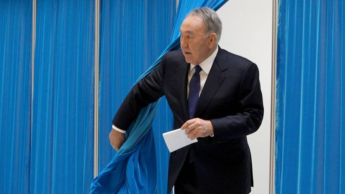 Kazakstanin presidentti Nursultan Nazabajev.