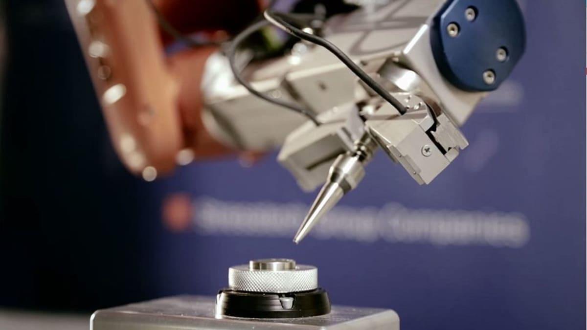 Stresstechin tuotteilla voidaan mitata mekaanista jännitystä muun muassa teräksisistä komponenteista.