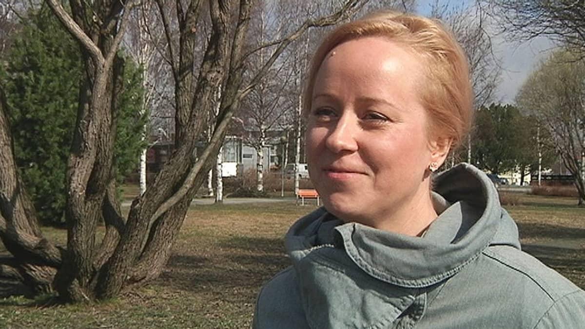 Tapojärvi Mining Oy:n toimitusjohtaja Mari Pilventö.