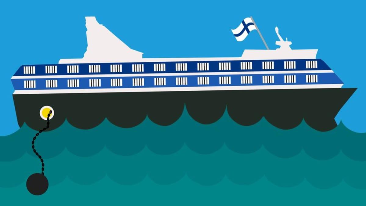 Suomen vangit mahtuisivat nyt yhteen ruotsinlaivaan