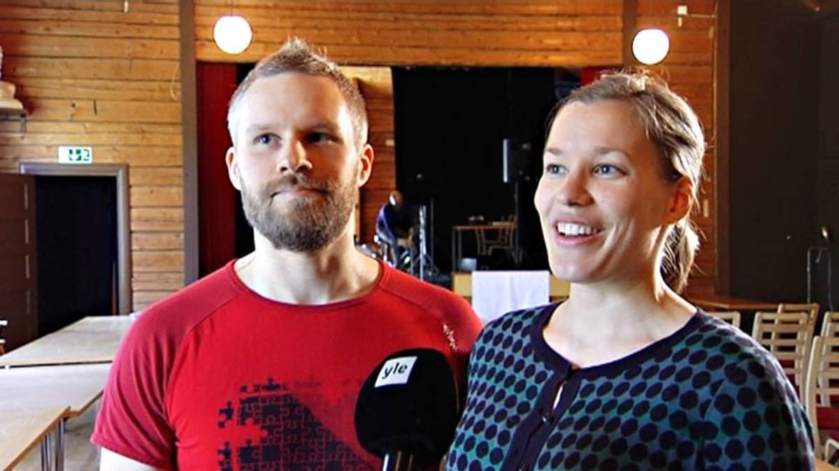 Samuli Viitanen ja Liisa Honkanen