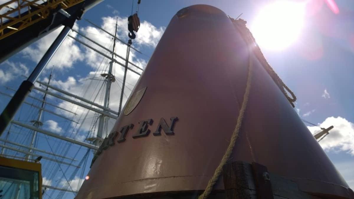 Sukelluskello Mårten on tehty 1700-luvun mallin mukaan.