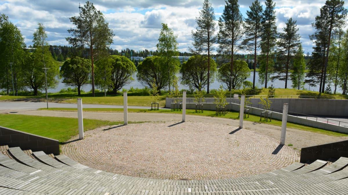 Amfiteatteri Kajaanissa.