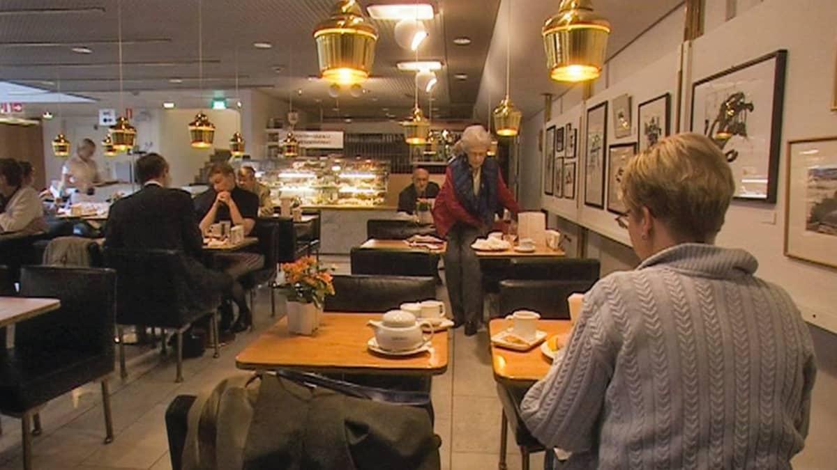 Akateemisen Kirjakaupan Café Aalto.