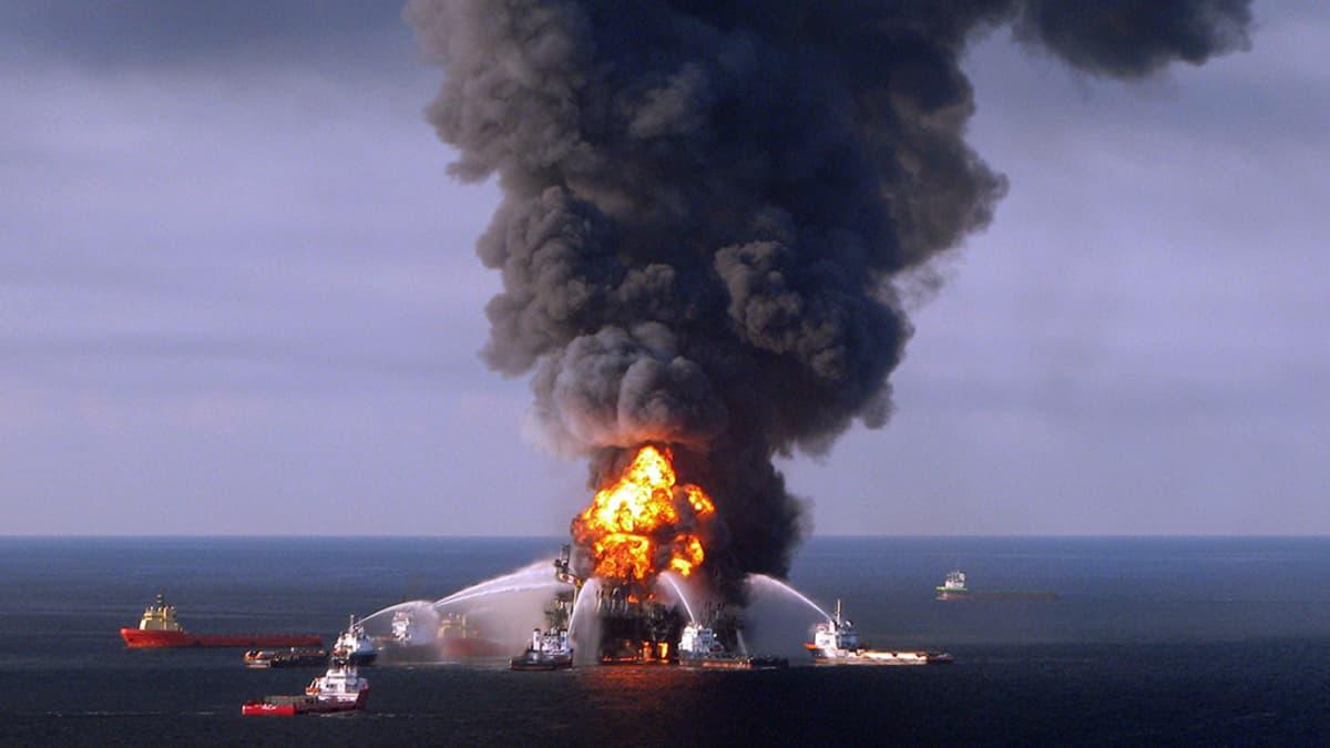 Deepwater Horizon öljynporauslautta.