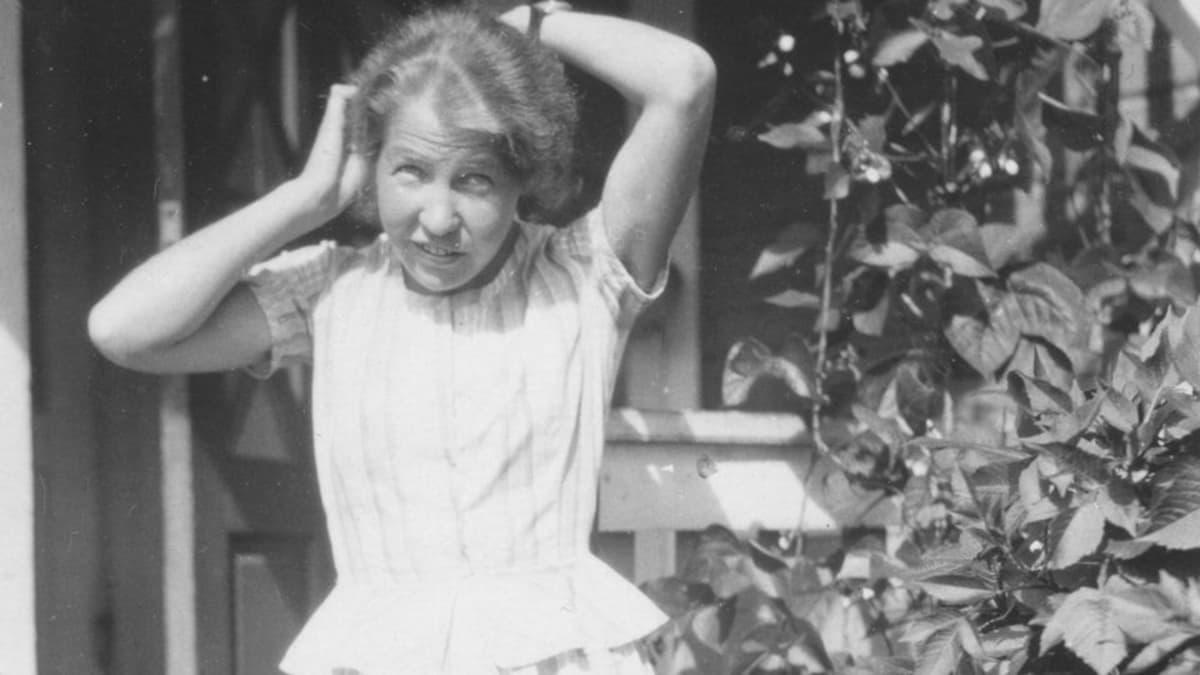 Aino Valli 1920-luvulla.