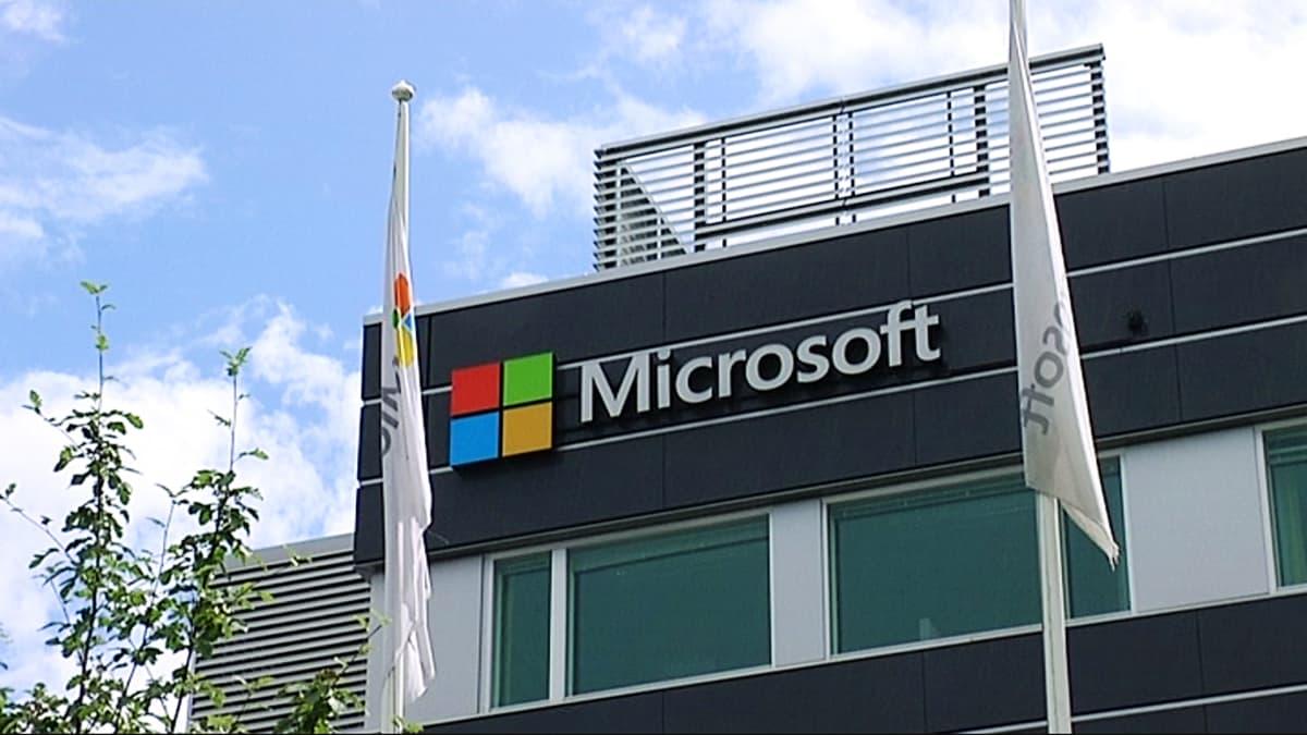 Microsoftin rakennus Tampereen Hermiassa.