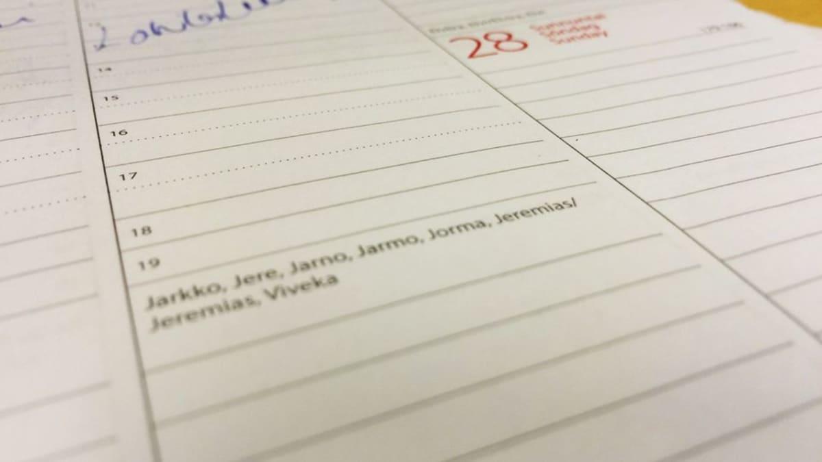 Kesäkuun 26. päivä on muun muassa Jarkon, Jeren ja Jorman nimipäivä