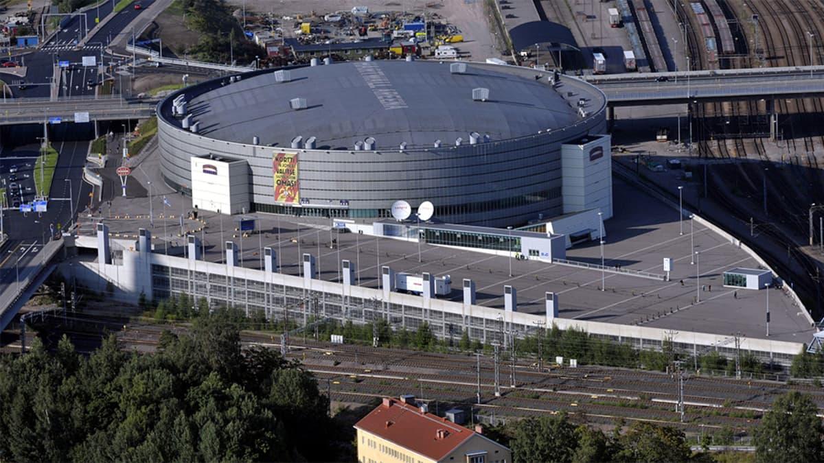 Hartwall-Arena ilmasta.