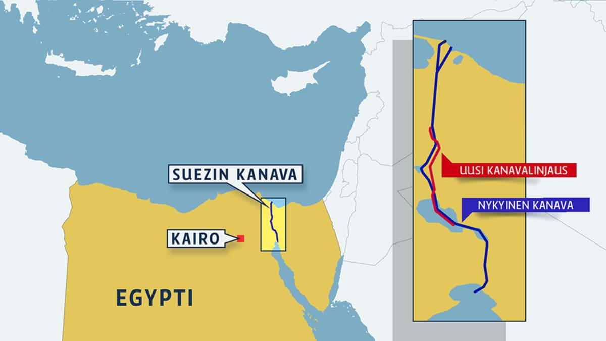 Uusi Suezin kanava
