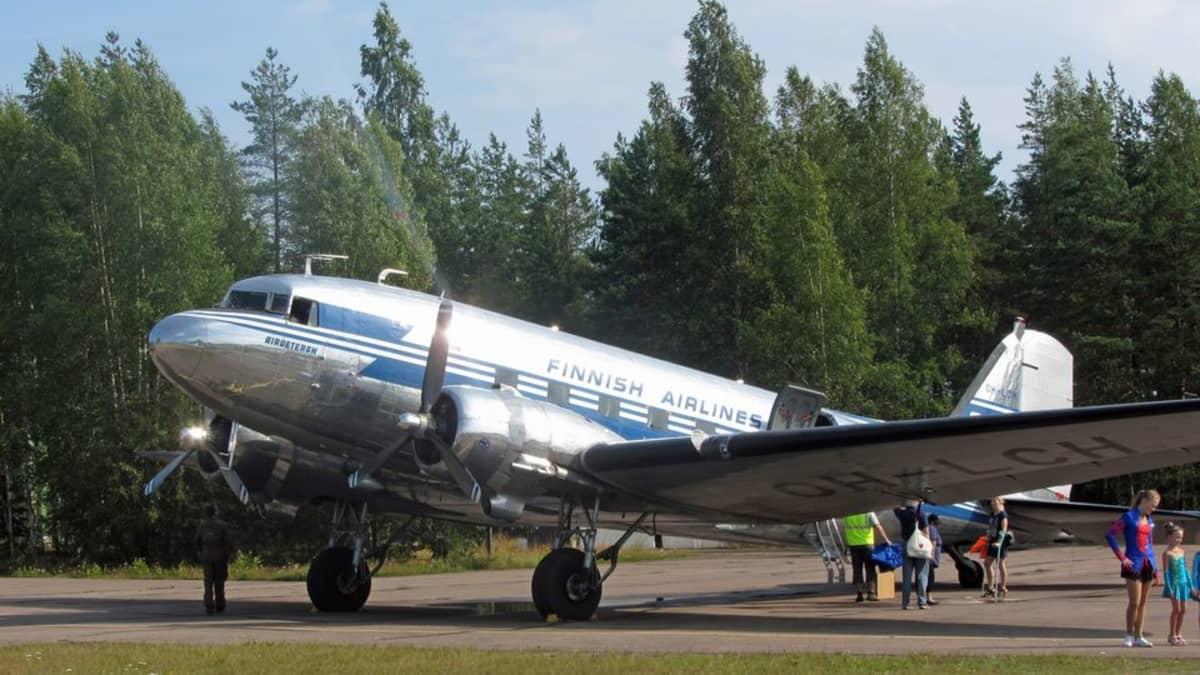 Douglas DC-3-lentokone