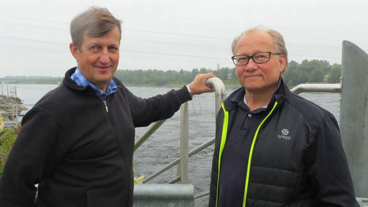 Jouko Rantamaula ja Erkki Vittaniemi.