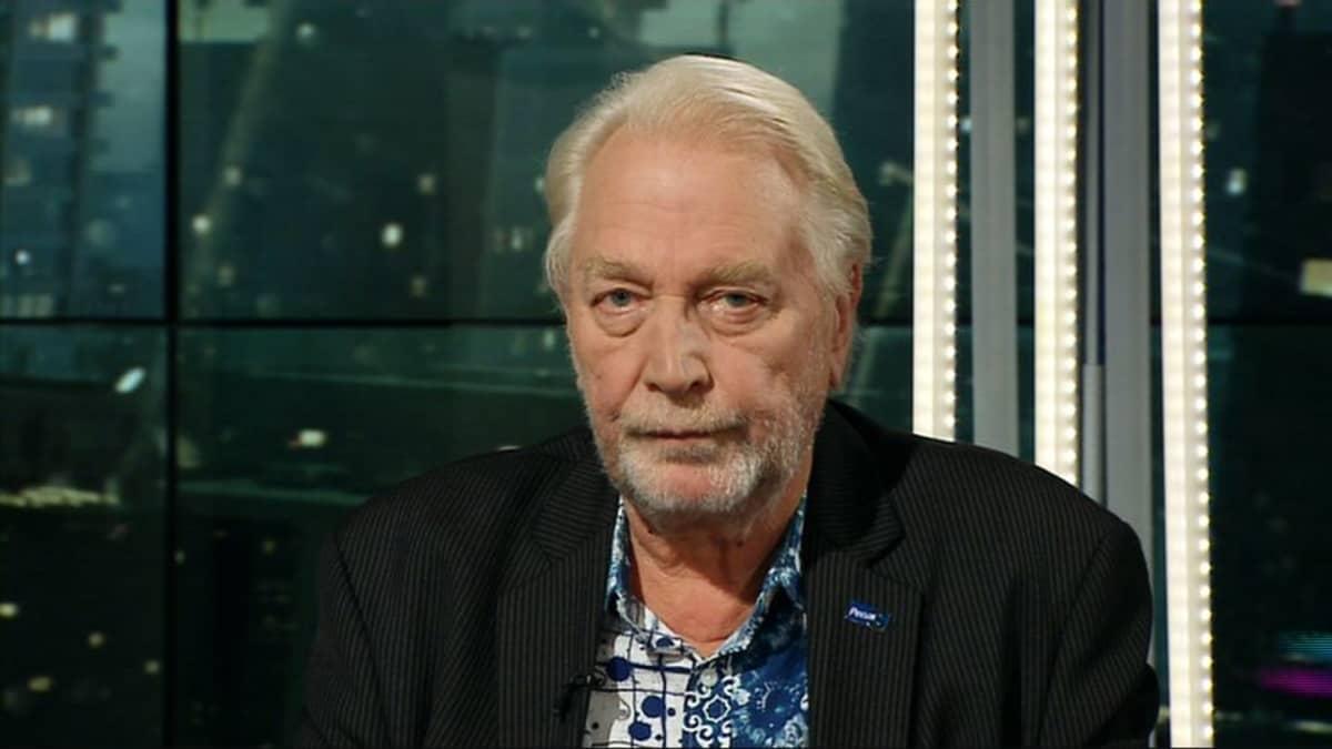 Perussuomalaisten puoluevirkailija Matti Putkonen.