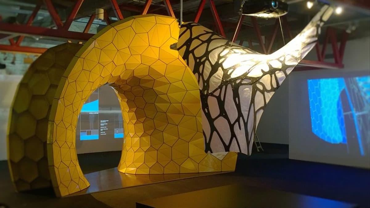 Kuva arkkitehtuuribiennaalista Tallinnassa.