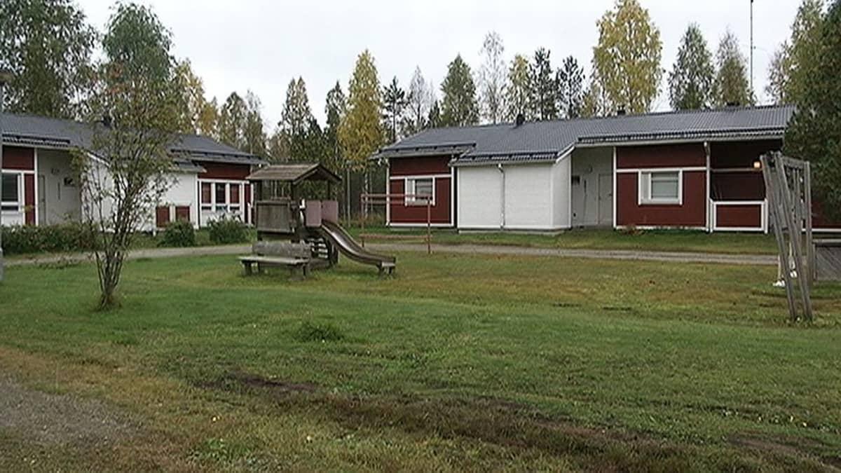 Tervolan tyhjiä vuokra-asuntoja, joihin avataan syyskuun puolivälissä 2015 turvapaikanhakijoiden vastaanottokeskus.