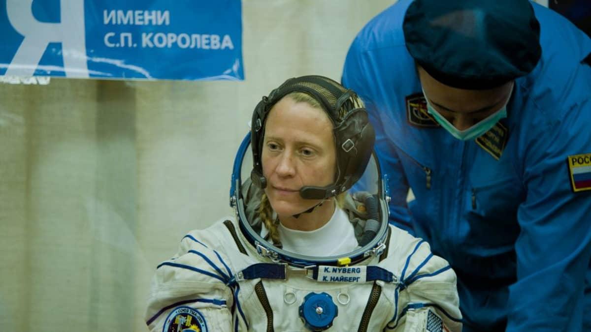 Äidin toive elokuvasta astronautti Karen Nyberg.