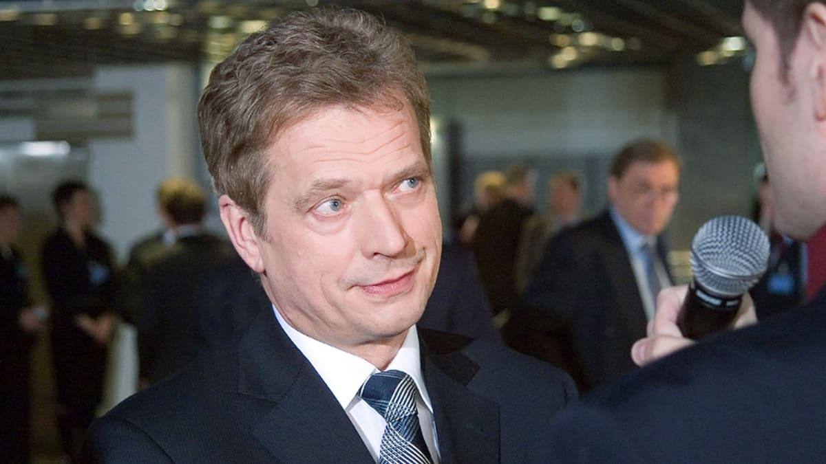 Sauli Niinistö vuoden 2006 vaaleissa.