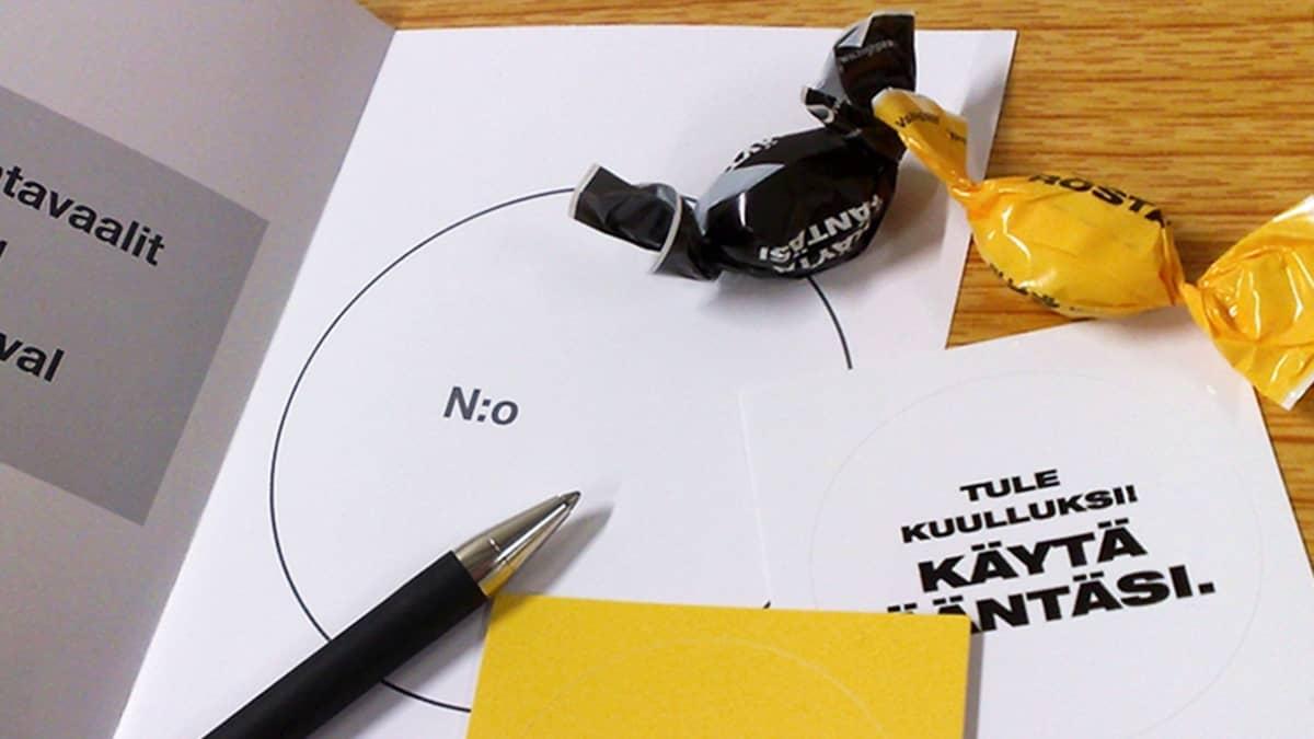 Eduskuntavaalit 2011 ennakkoäänestys.