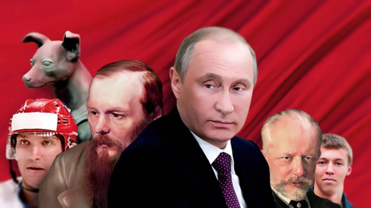 venäjä-testi