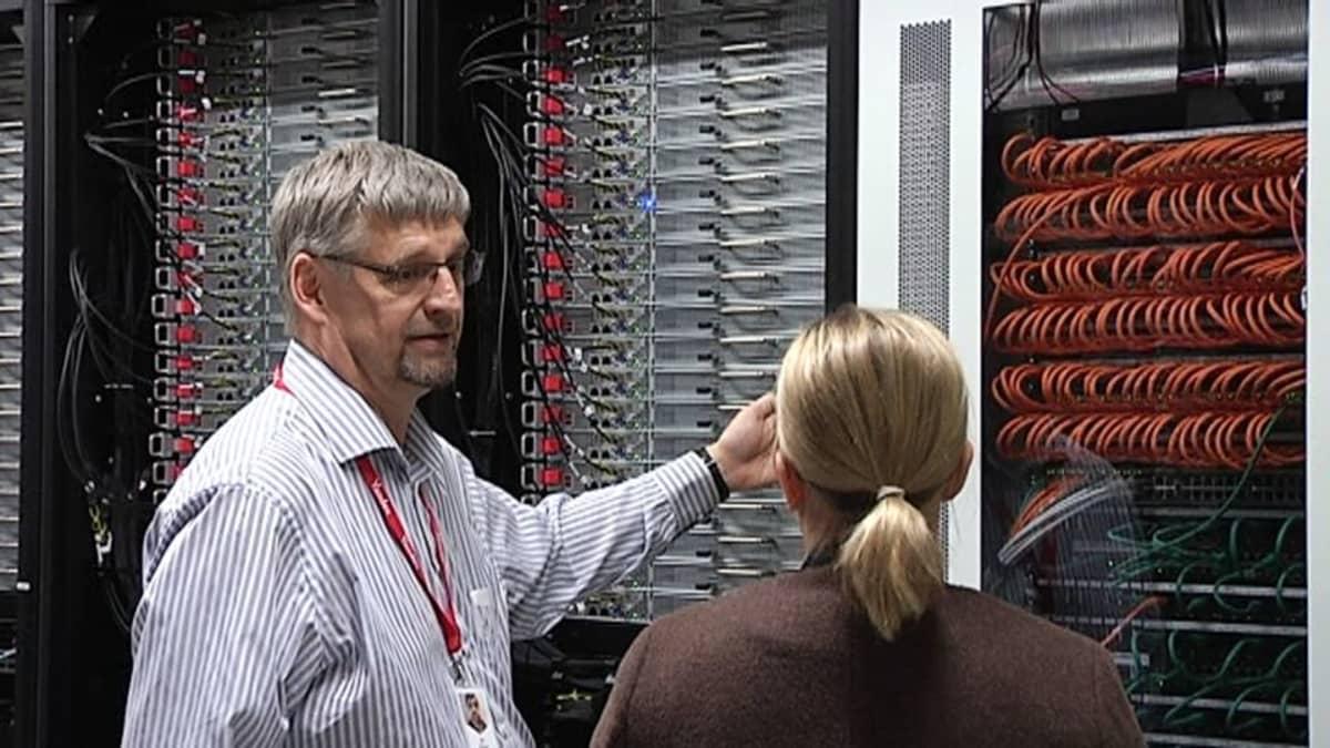 Yandexin tietokonekeskuksen päällikkö Ari Kurvi