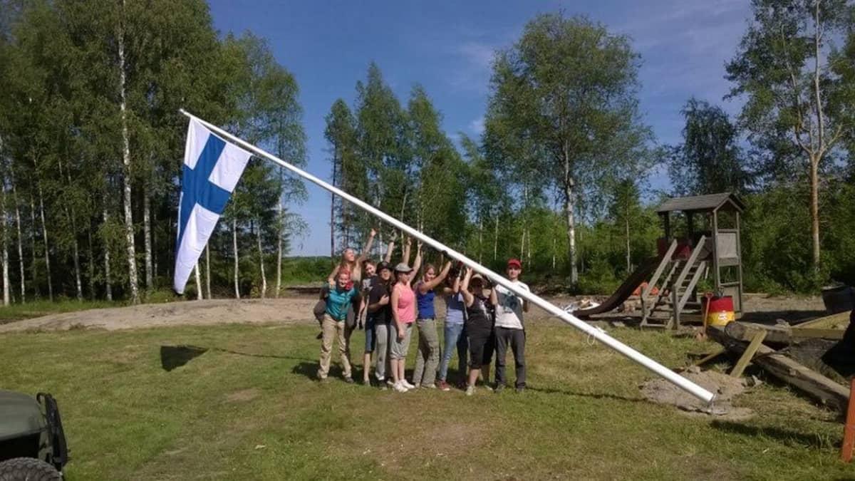 Kesällä 2014 Mankilan kylässä järjesttiin nuorten kansainvälinen leiri.