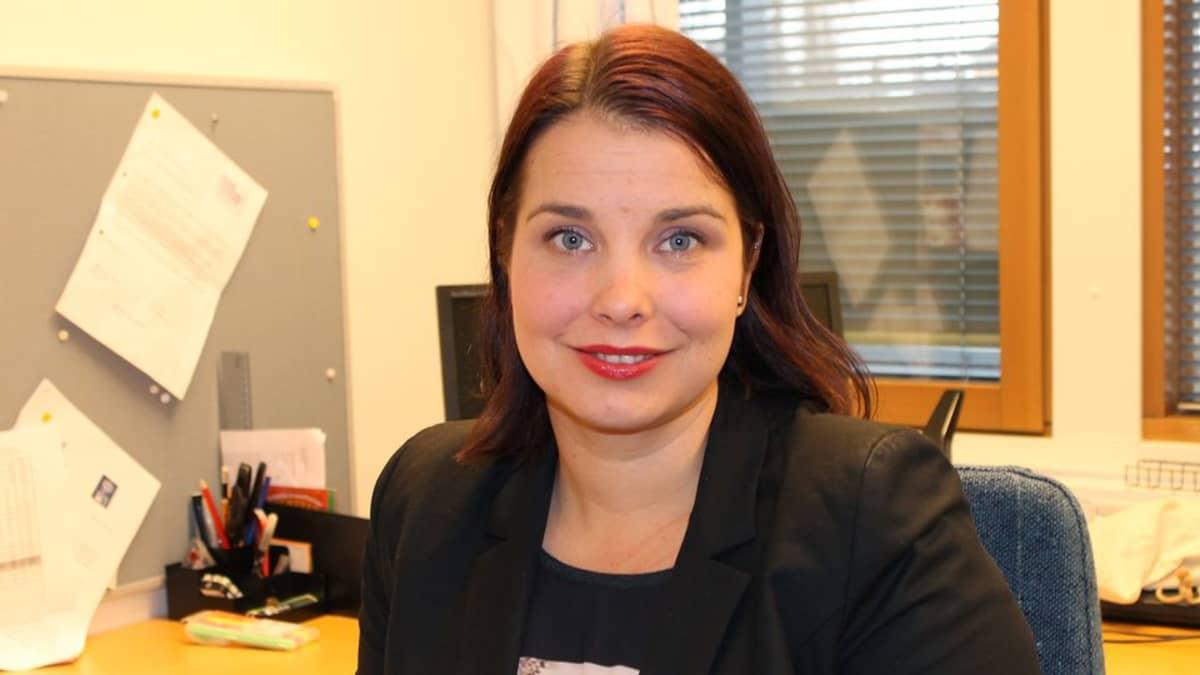 Ylöjärven kaupungin opetuspäällikkö Leena Pöntynen.