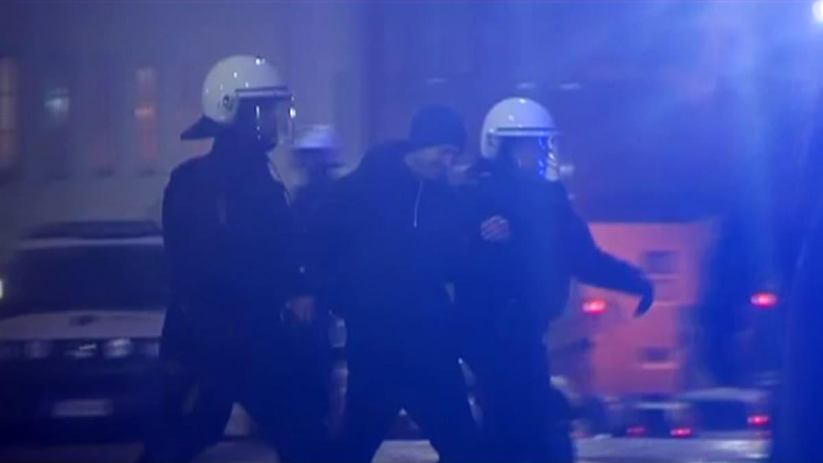 poliisi kiinniotto