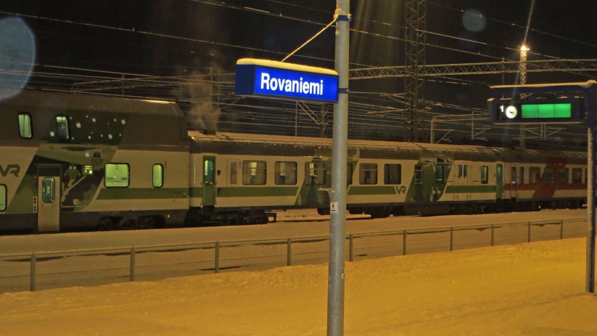 Rovaniemen rautatieaseman laiturit