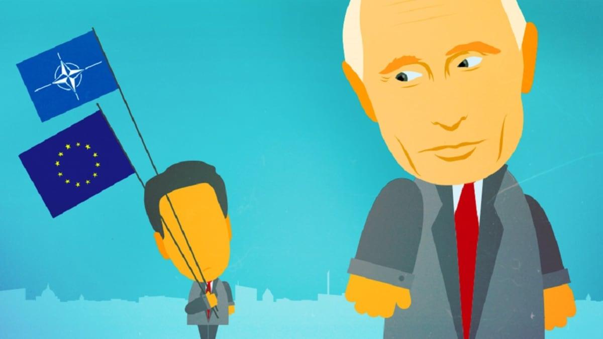 Asiantuntijoiden mukaan länsi on ollut Venäjän hybriditaktiikan vietävänä Syyrian ja Ukrainan sodissa.