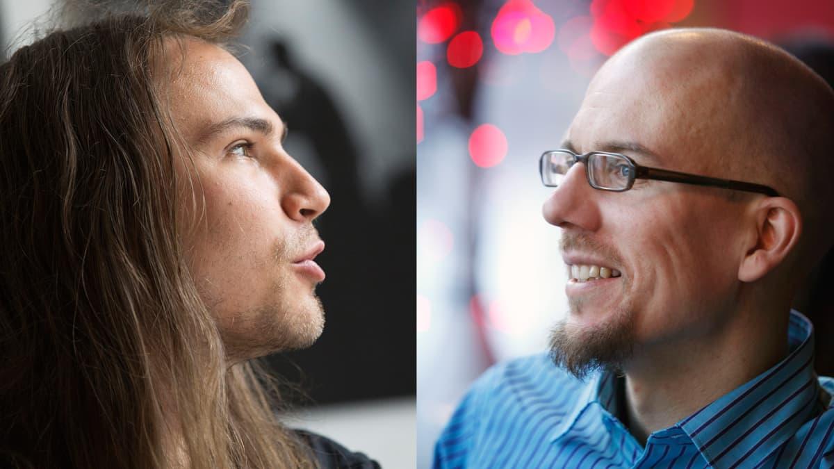 Paperi T ja Antti Auvinen.