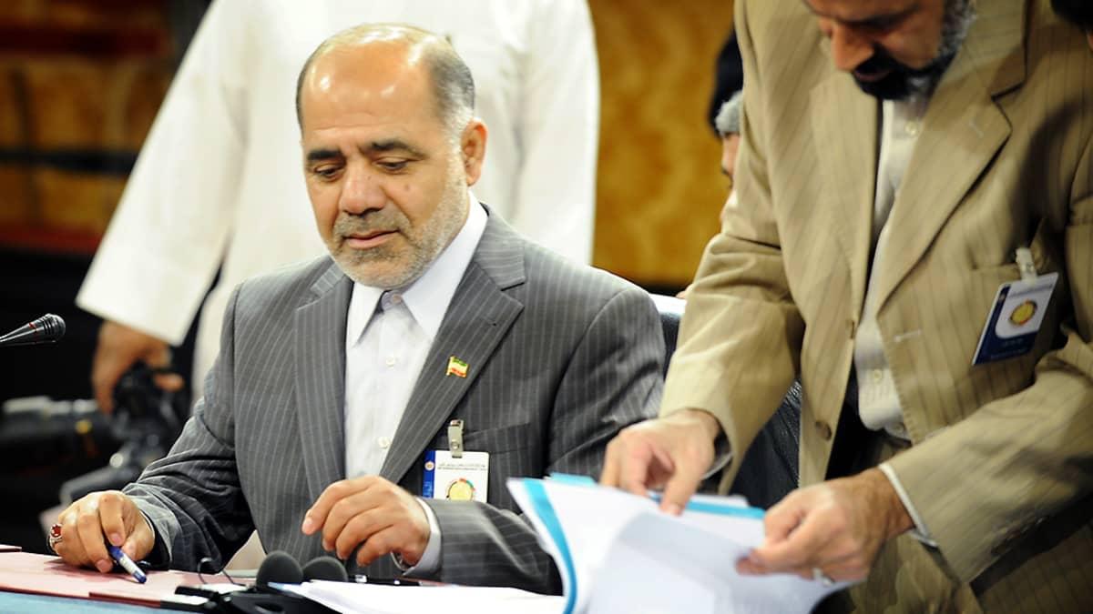 Prikaatinkenraali Ali Abdollahi.