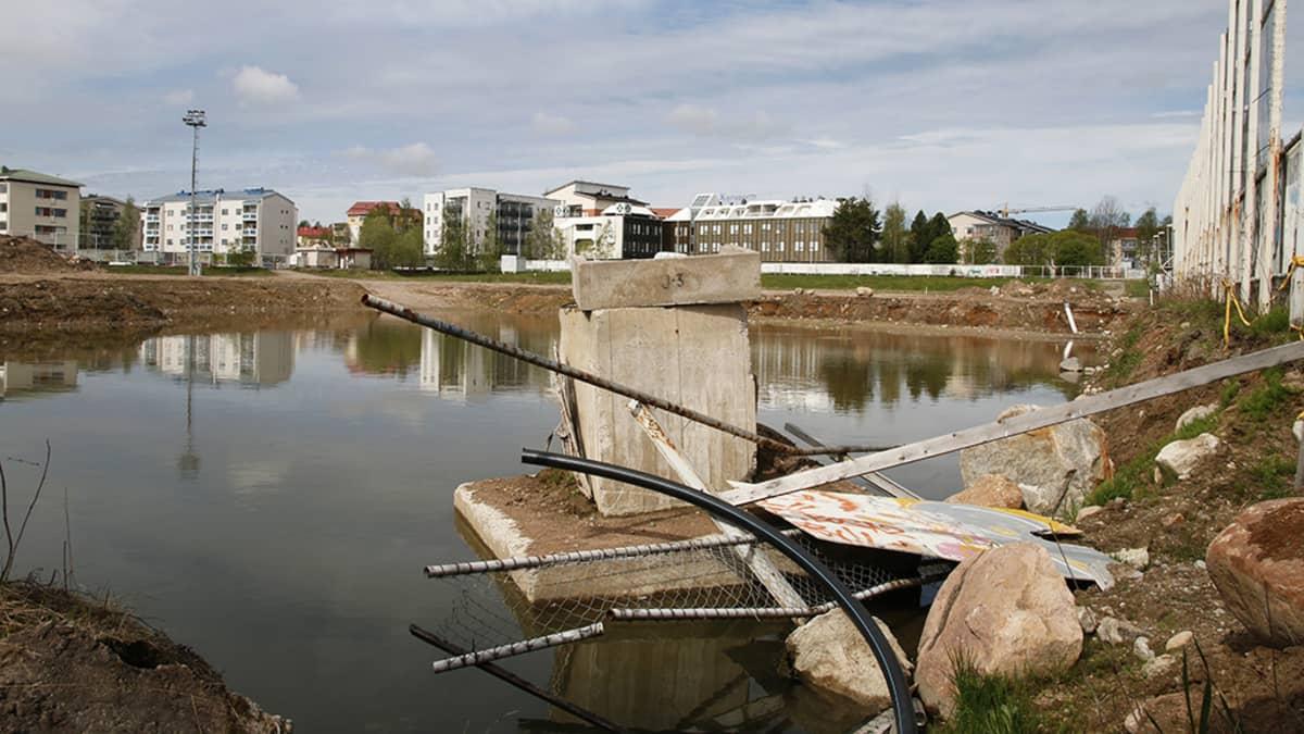 Lapinaukea Rovaniemellä
