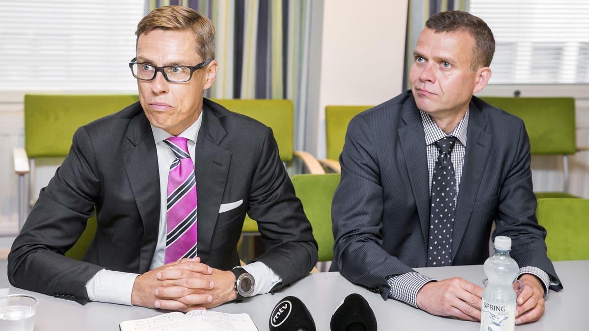 Alexander Stubb ja Petteri Orpo