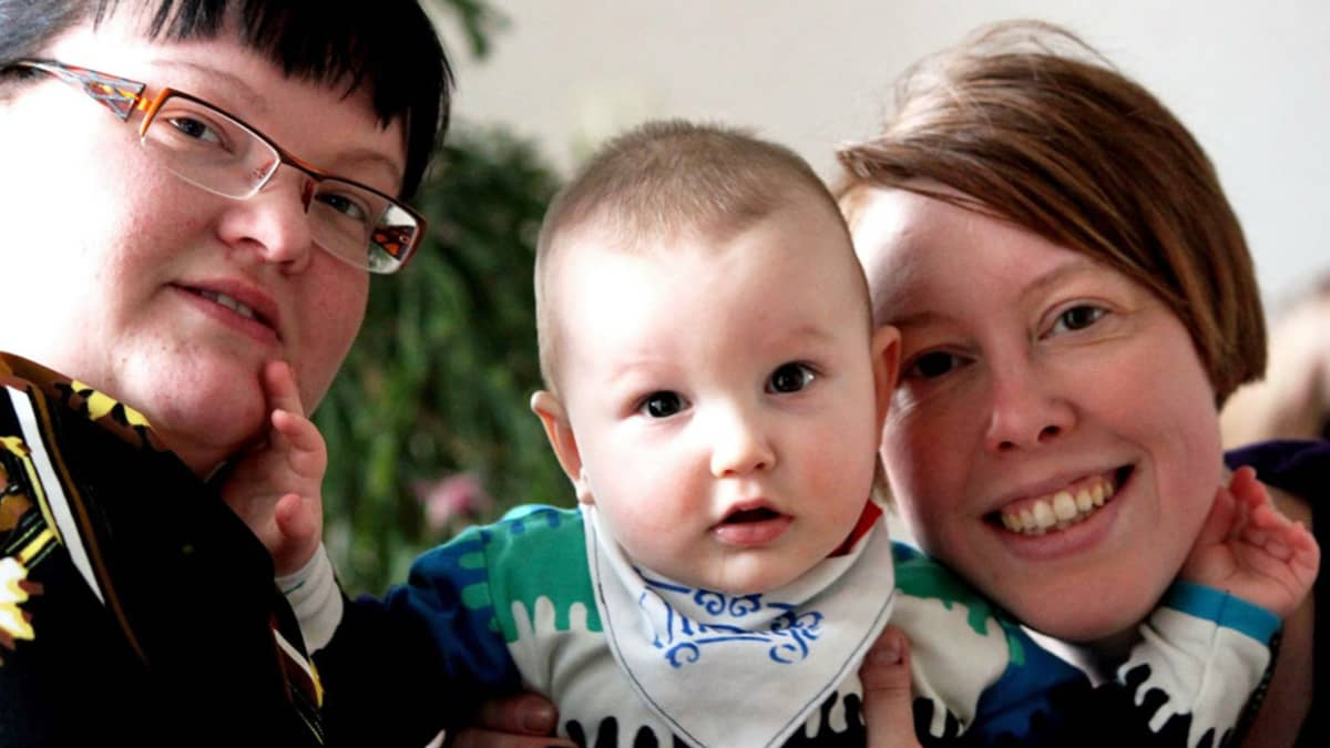 Heidi, Sisu ja Miia Lampén.