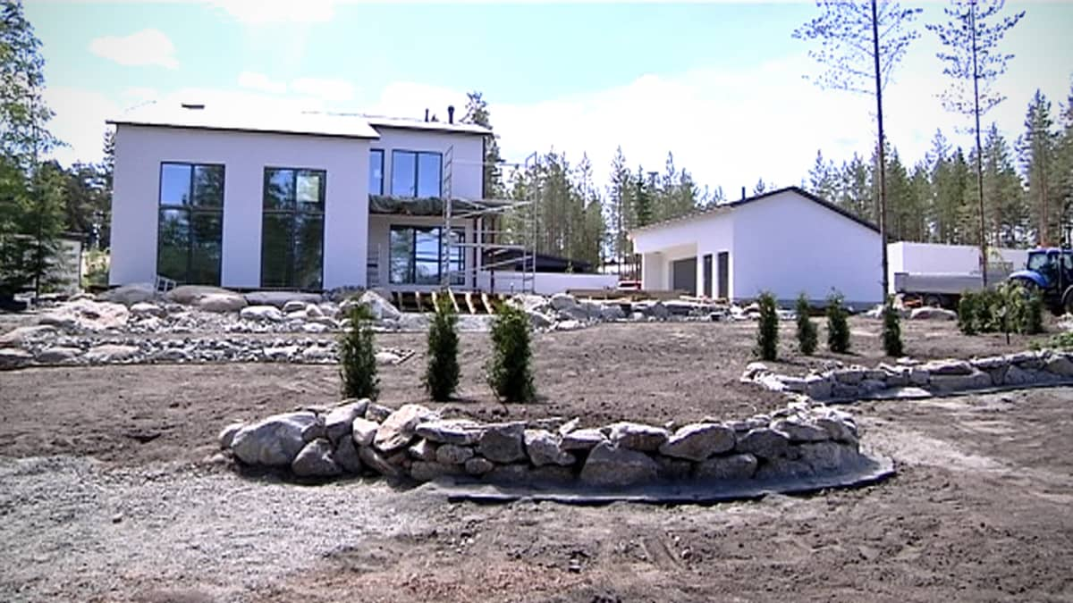 Omakotitalo Seinäjoen asuntomessuilla