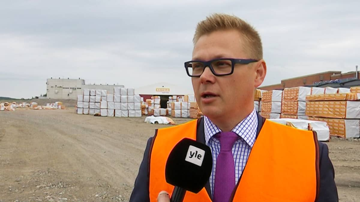 Matti Kylävainio, sahaliiketoiminnanjohtaja Keitele Group