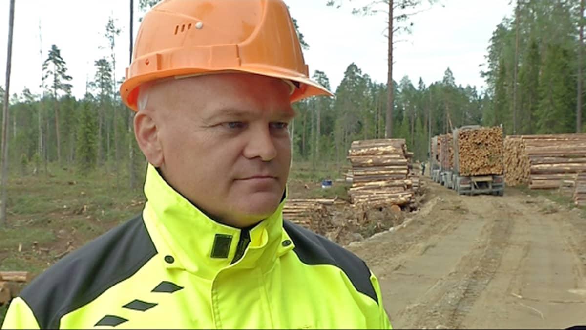 Toimitusjohtaja Matti Kontro