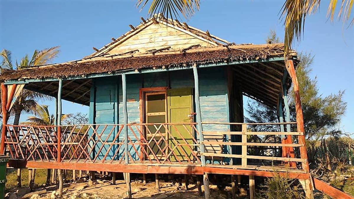 Madagaskarilainen asunto.