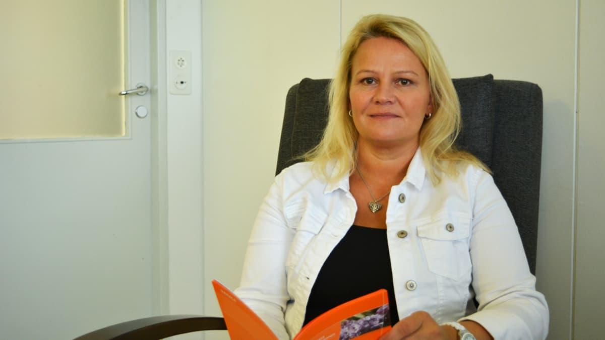 Kainuun kriisikeskuksen kriisikeskusjohtaja Sari Huovinen.