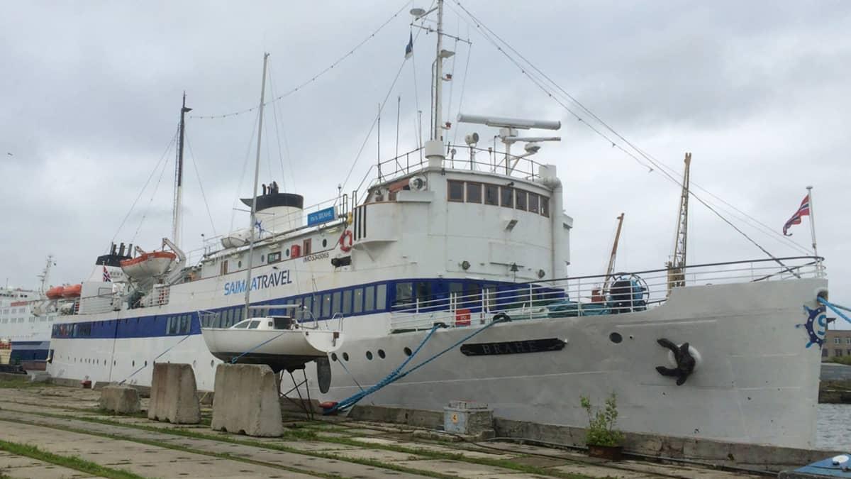 M/S Brahe Tallinnassa