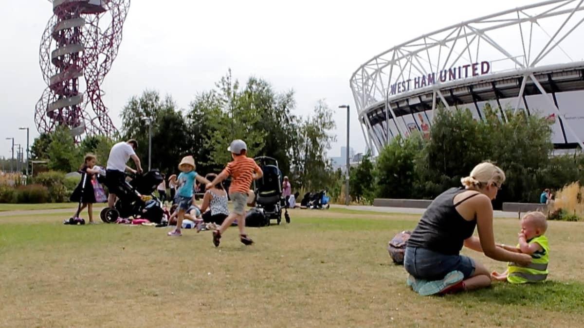 Lontoon olympialaisten tapahtumapaikka.