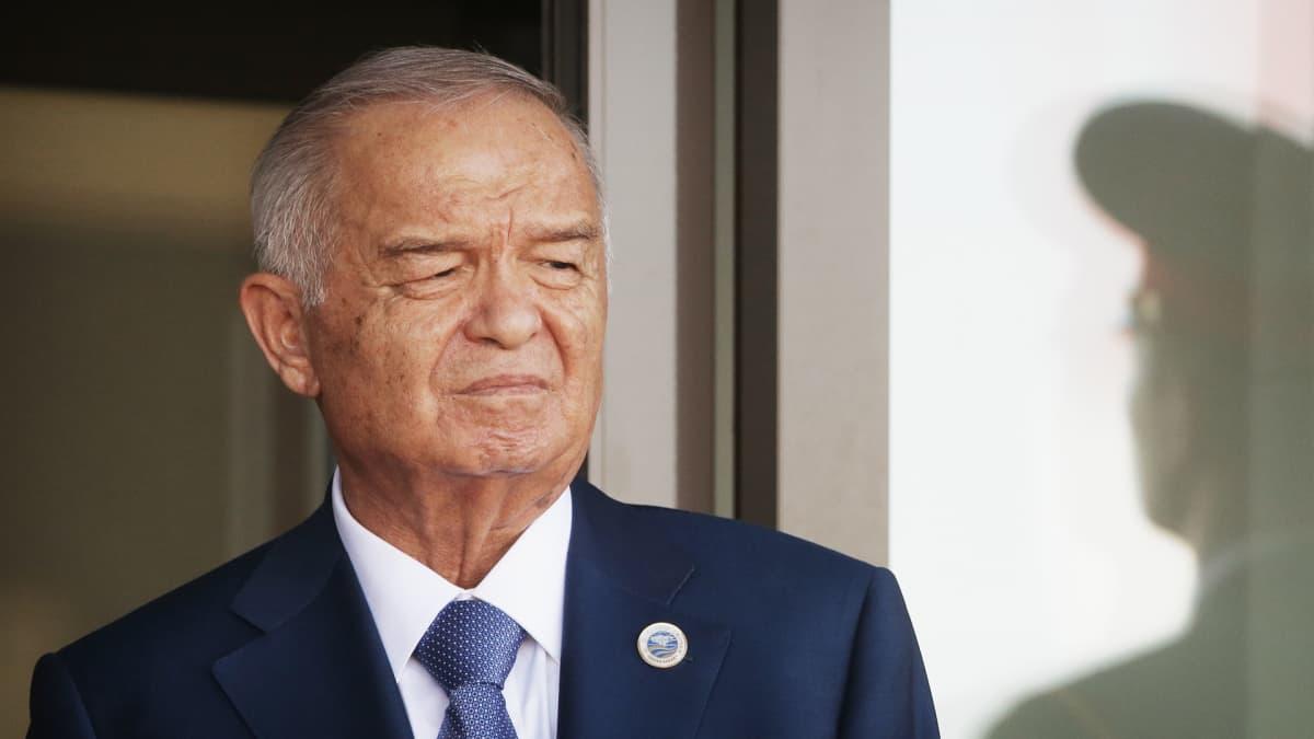 Islam Karimov.
