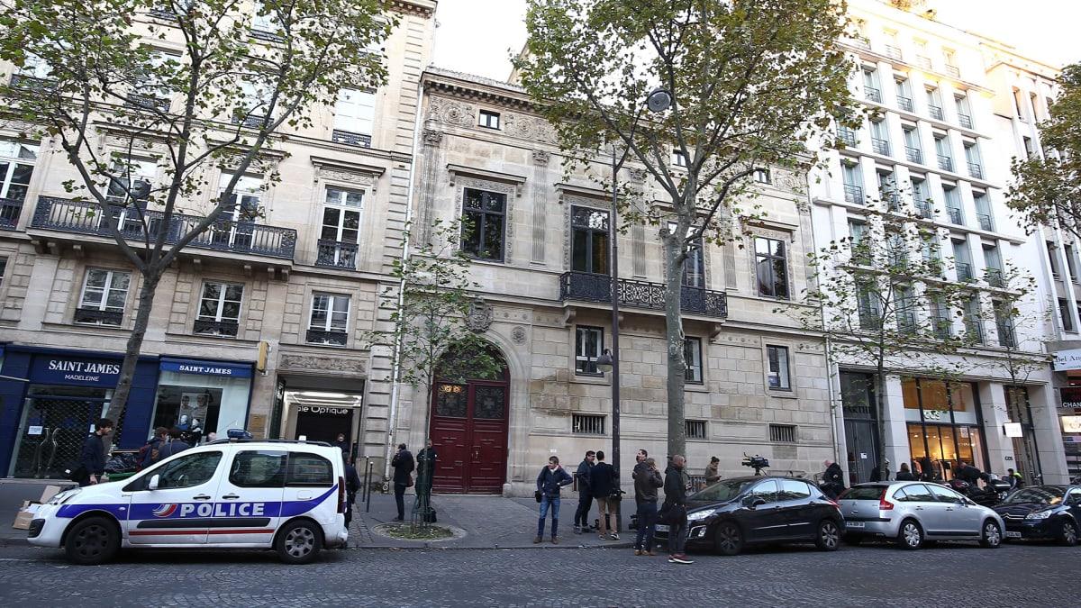 Kim Kardashian ryöstettiin Pariisissa.