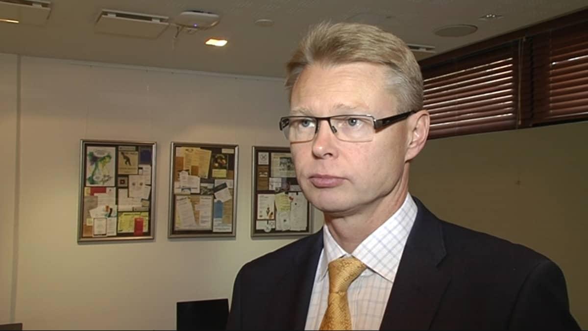 Geologian tutkimuskeskuksen pääjohtaja Mika Nykänen