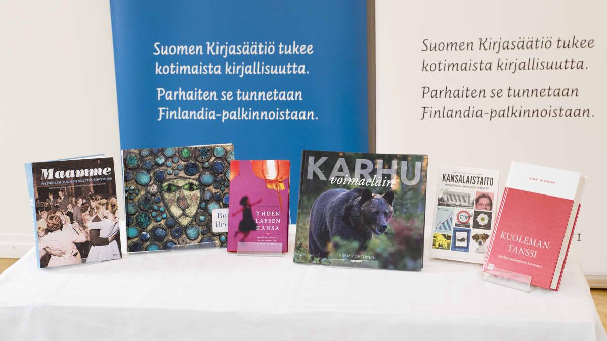 Tietokirjallisuuden Finlandia-palkintoehdokaskirjat vuonna 2016.