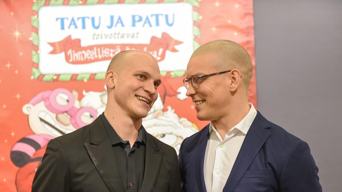 Riku Nieminen ja Antti Holma.