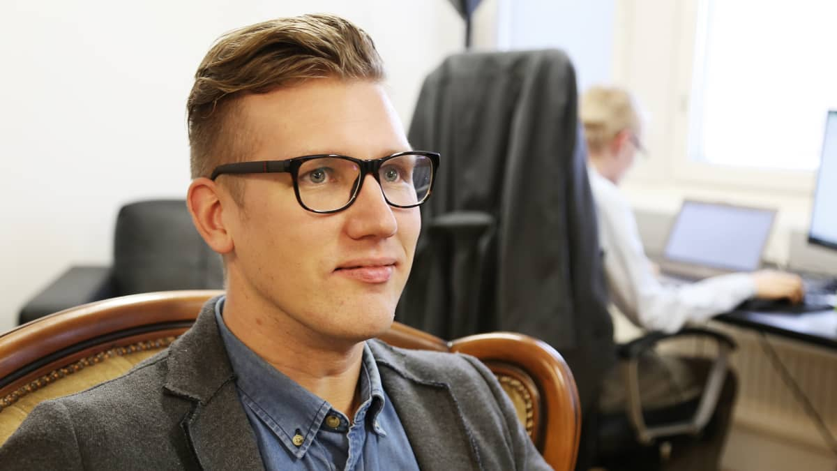 Lumo Energian toimitusjohtaja Samuli Melanko.