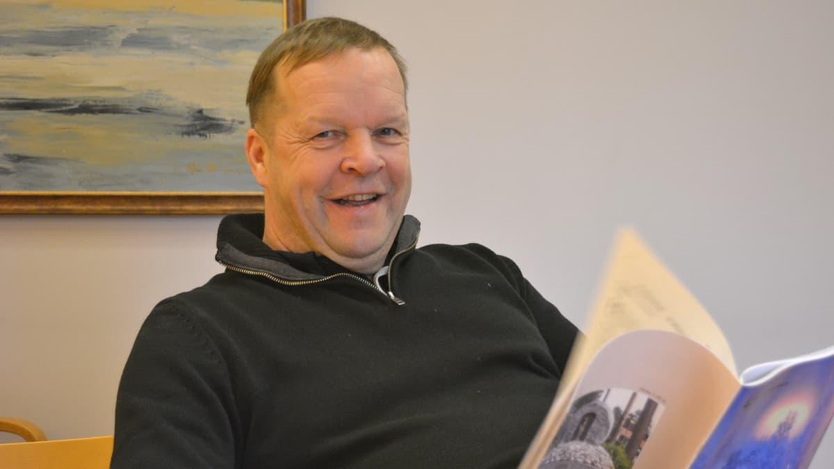 Kajaanilainen yrittäjä Antti Kela sanoo, että moni on ollut hänelle kateellinen.