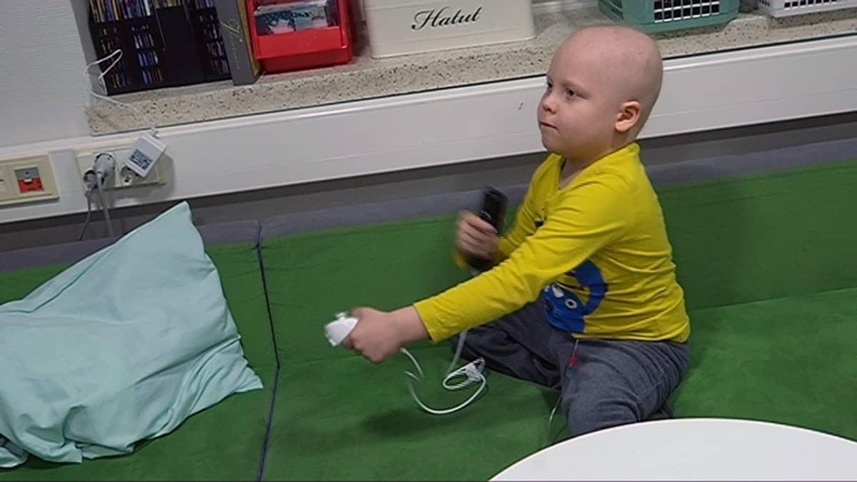 Nooa, 5 vuotta, sairastui leukemiaan